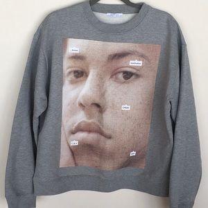 Zara Face Sweatshirt